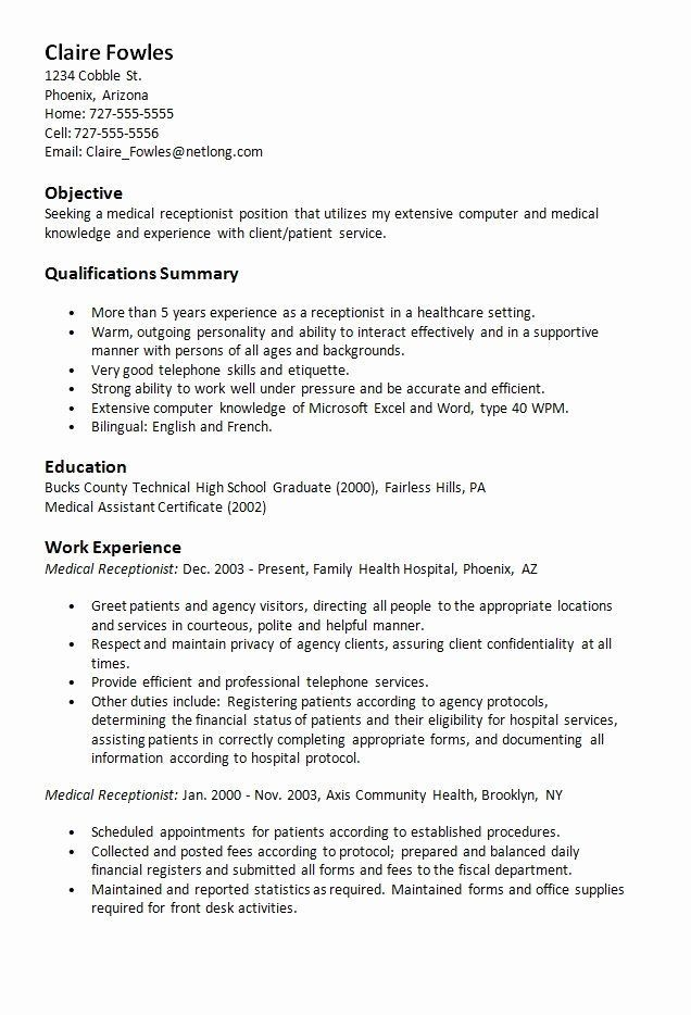 Hotel Front Hotel Hotel Front Desk Job Description Resume Inspirational The Ghostwriter Quiz Who In 2020 Medical Receptionist Medical Assistant Resume Resume Examples