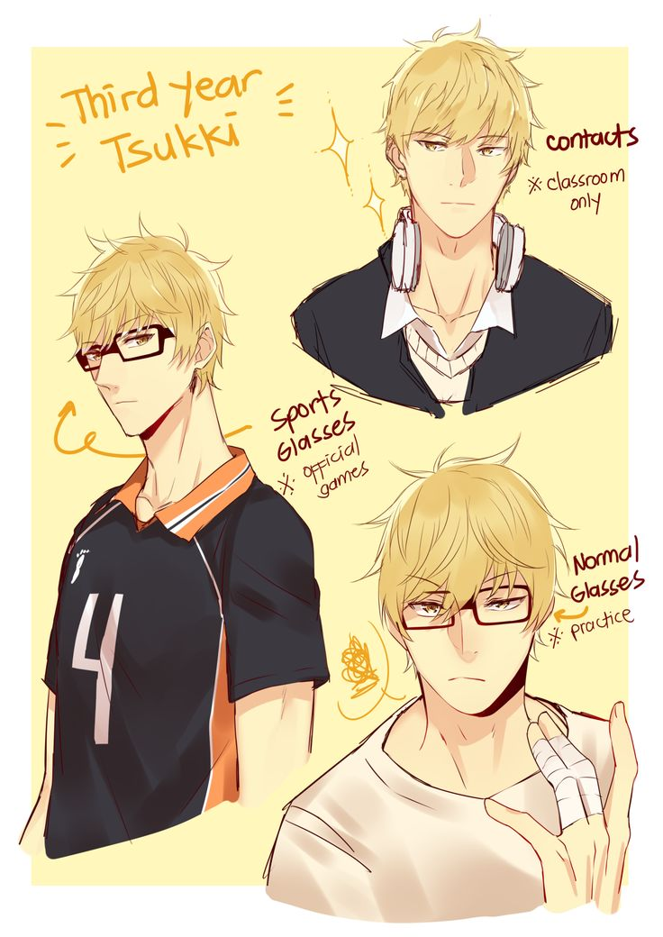 third year Tsukishima