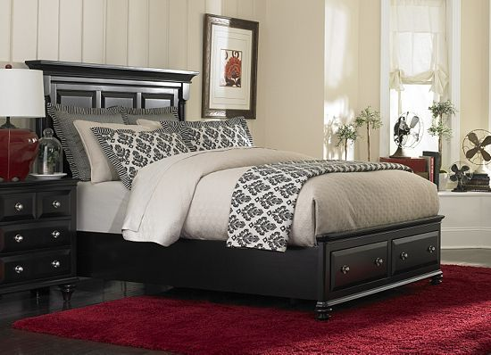 Awesome Bedrooms, Panama Queen Storage Bed, Bedrooms | Havertys Furniture