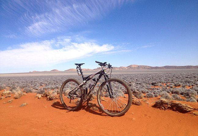 The Klein-Aus MTB Team prepares for the Cape Epic in soaring heat in Namibia...