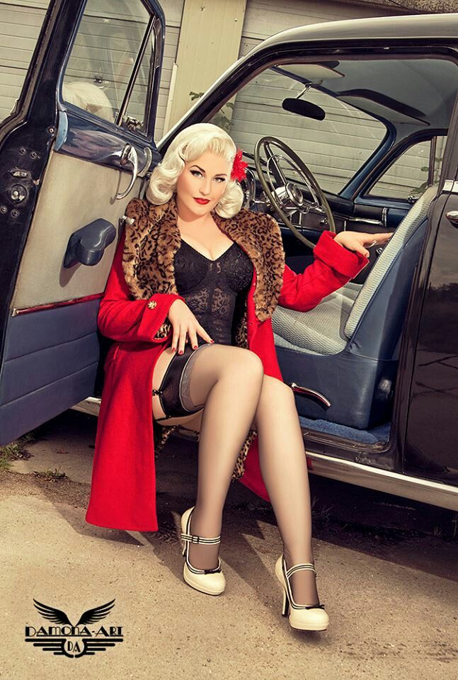 Best Pinup Models Car Girls Images On Pinterest Car Girls