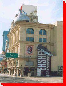 Hershey Bar and KIss - Niagara Falls, Ontario