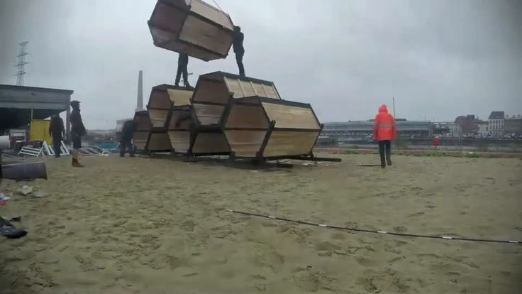 New way of festival accomodation from Belgium - greener, safer, better