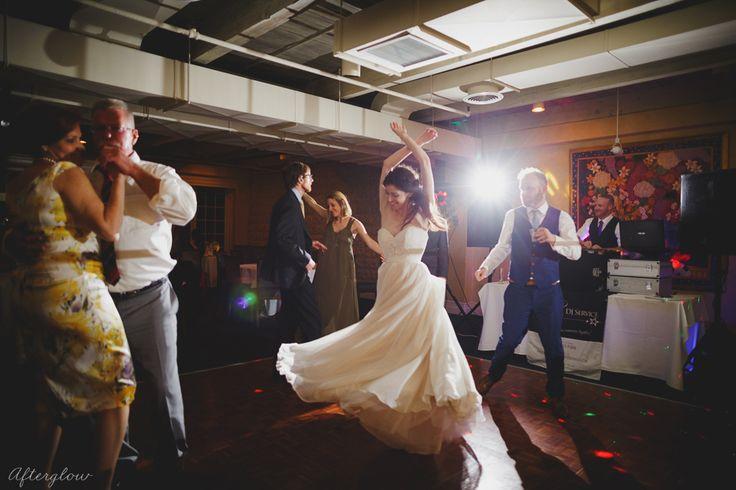 Inn on the Twenty wedding reception windows room Twilight DJ