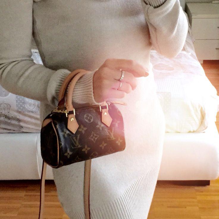 minibag nano bag mini size louis vuitton speedy hl mini monogram bauletto nano