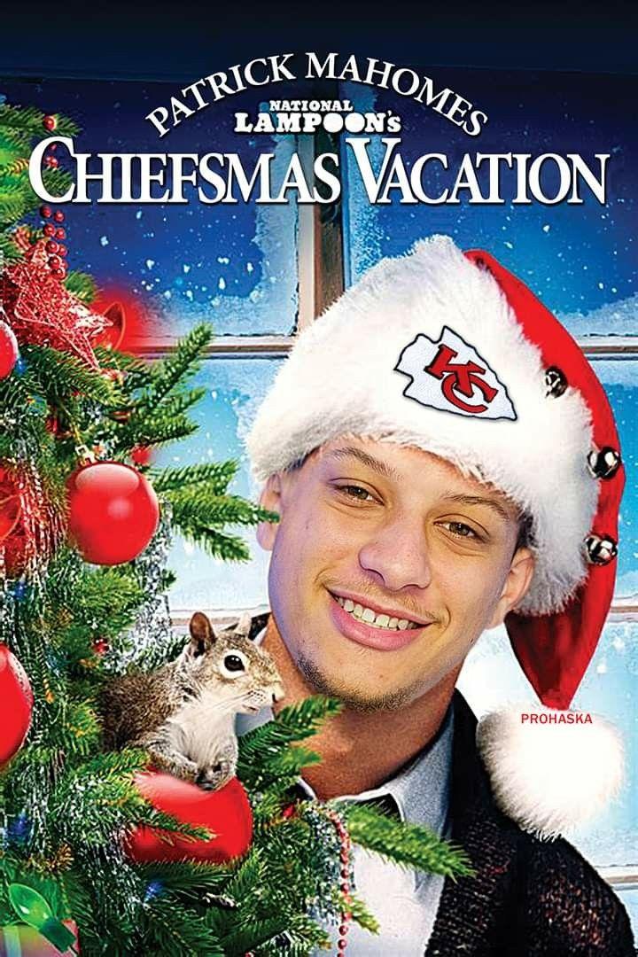 Patrick Mahomes National Lampoons Christmas Vacation Classic Christmas Movies Lampoons Christmas