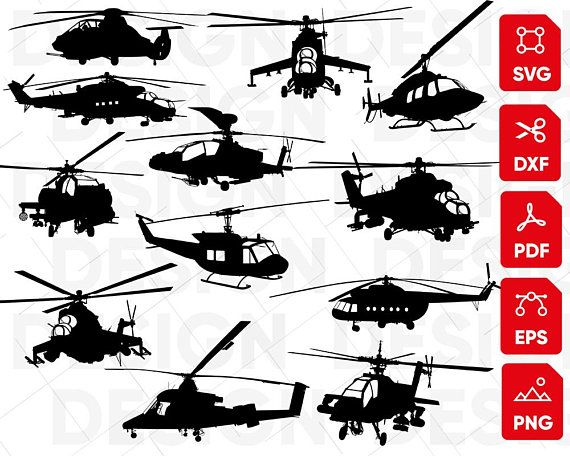 Helicopter Svg Bundle Airplane Svg Helicopter Clipart Etsy In 2021 Svg Helicopter Clip Art