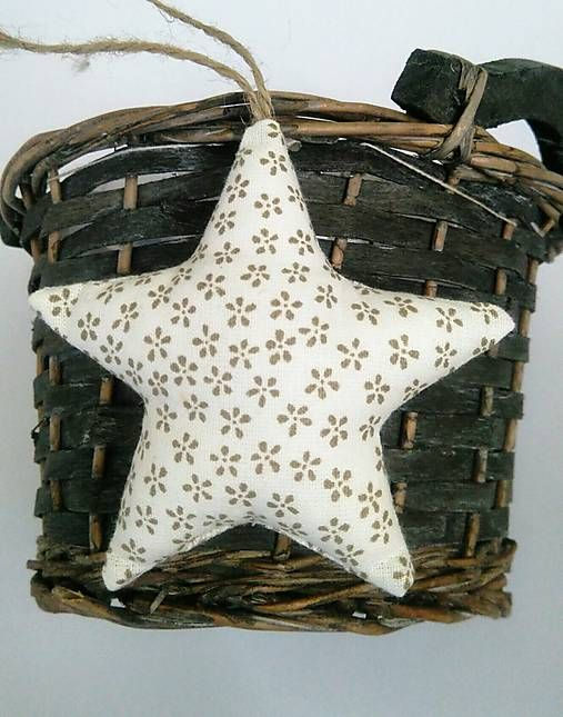 domivecicky / Vianočná ozdoba na stromček Hviezda
