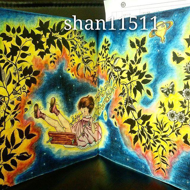 Floresta Encantada Forest PicturesTag PhotoAdult ColoringColoring BooksJohanna BasfordColored