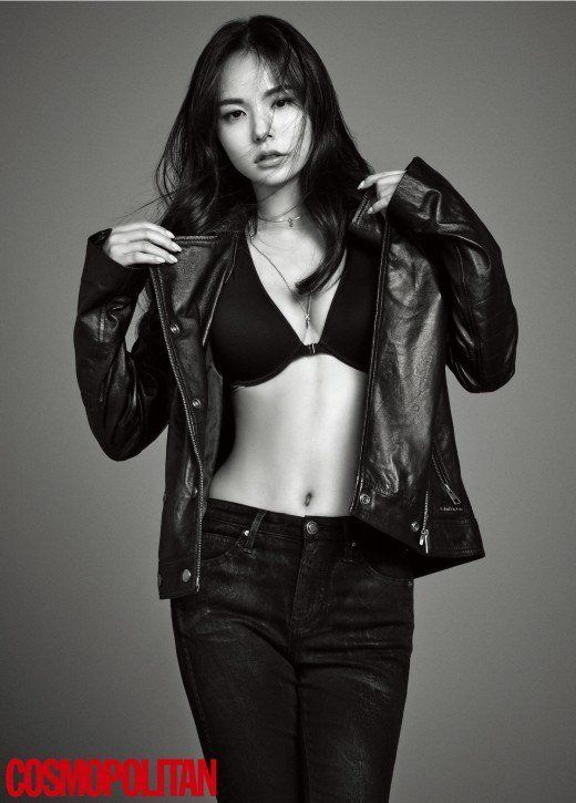 Min Hyo Rin flaunts her sexy curves in 'Cosmopolitan' | allkpop.com