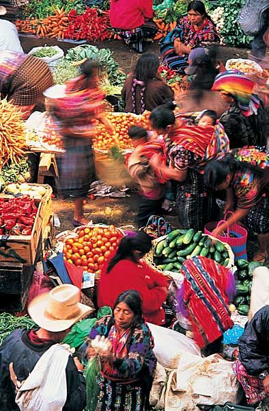 Probably Guatemala's best known market, Chichicastenango. Incredibly colourful. If you can, go on Sunday to witness the religious ceremonies..#solotravel