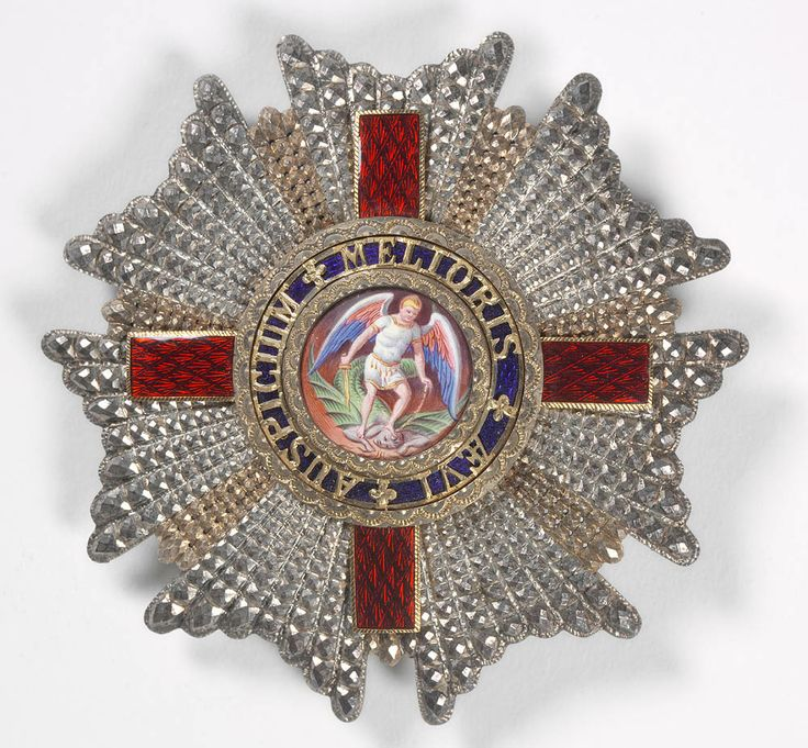 G.C.M.G.,  insignia of the Knight Grand Cross Sir Henry Parkes  (1815-1896), awarded in 1888. R. & S. Garrard & Co.; star, 90 mm. dia. Obv.