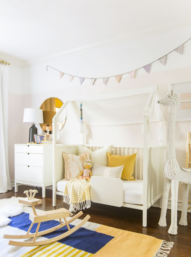 A Little Girl S Bedroom Makeover With Stokke