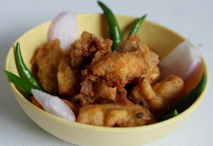 Savispassions: Simple Chicken Pakoda
