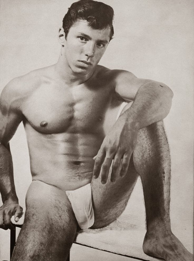 Vintage gallery physique male