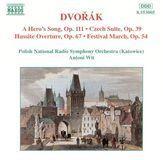 Dvorák: A Hero's Song; Czech Suite; Hussite Overture; Festival March [CD], 03679708