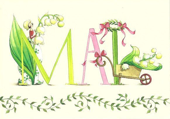 """Mai"" illustration de Nina Chen, artiste allemande."