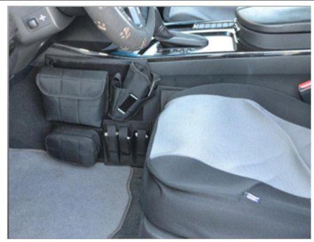 Amazon.com: Concealed Carry Automotive / Car holster with 3-Mag Pouch and iPhone Pocket: Sports & Outdoors