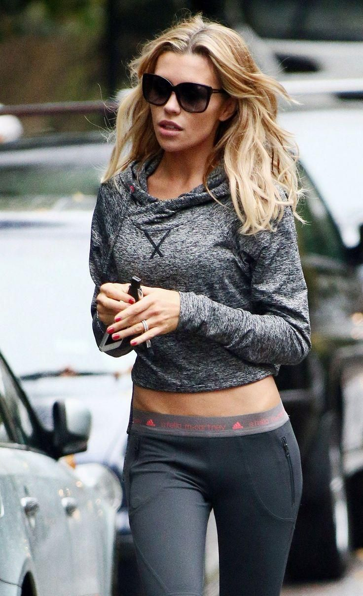 Betty top with an adidas by Stella McCartney pair of leggings.  | Fitness Girl Apparel