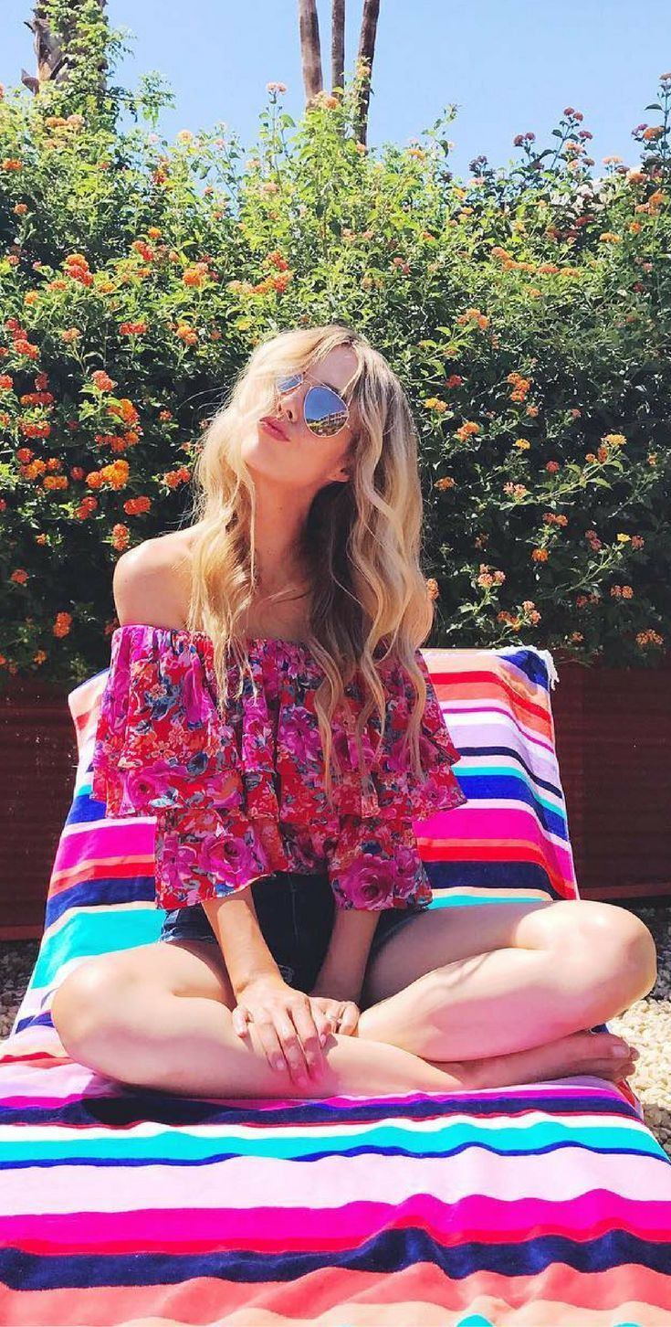 Happy colors & a sweaty mess. Fashion Blogger, Sheridan Gregory, Summer Style.