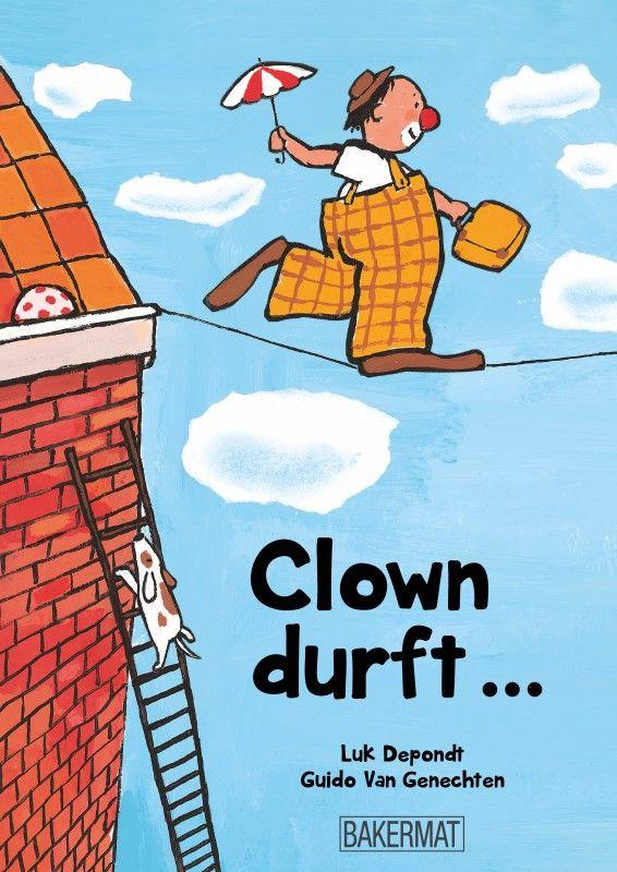 Clown durft - Luc Depondt, Guido van Genechten jeugd - fictie