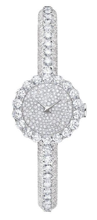 "Dior ""Haute Joaillerie"" Mini D diamond watch. ♥"