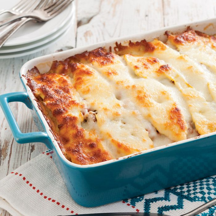 Our gooey, cheesy Summer Squash Lasagna is our favorite way to use up a bounty of squash.