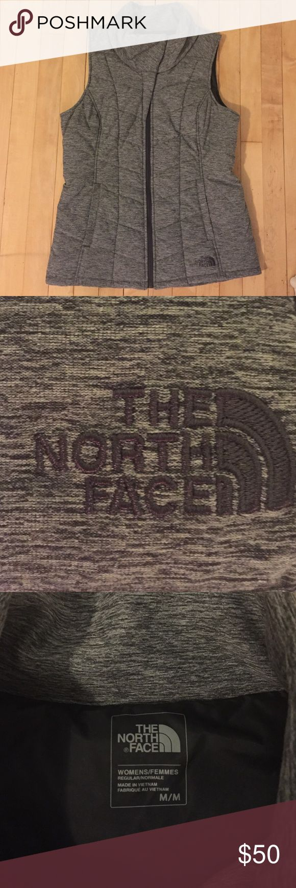 Gray North Face vest This adorable North Face vest is an adorable steal, so feel free to make an offer! The North Face Jackets & Coats Vests