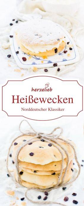 Kuchen Rezepte: Rezept für Heißweckena aus Norddeutschland und Skandinavien. Traditionell, klassisch und einfach. #backen #kuchen #deutsch #herzelieb