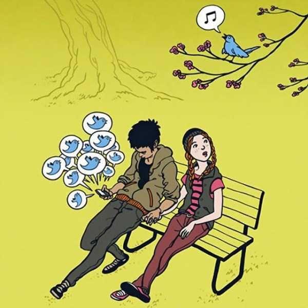 15 Imagens que ilustram o nosso vício atual por smartphones