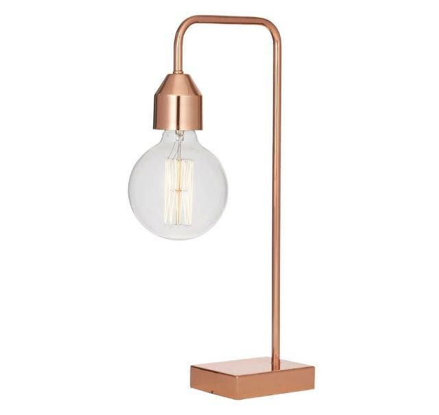 The one and only Ava table lamp More stock of this beauty has just arrived in so don't miss out! #avalamp #lamp #copper #copperlamp #copperaddiction #dcbdesigns
