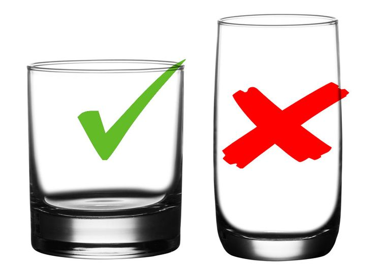 Stateroom Glasses vs. Bar Glasses: They're not the same, and there's good reason!