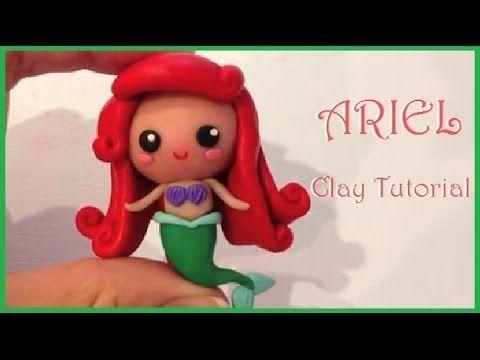 Disney Ariel Little Mermaid Polymer Clay Tutorial