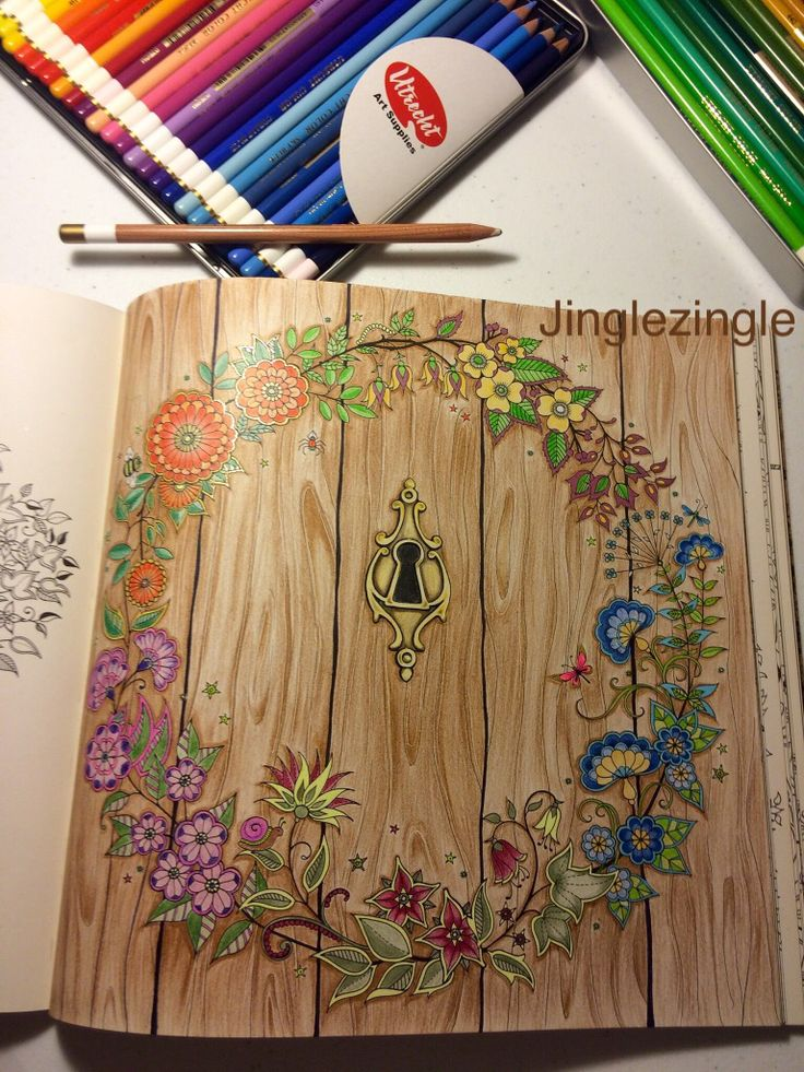 Secret Garden Coloring Book 1
