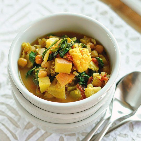 Slow-Cooker Recipe:  Curried Vegetable and Chickpea Stew   Recipes from The Kitchn