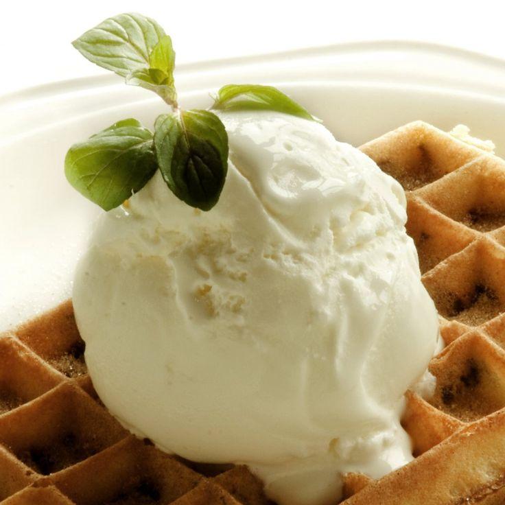 Waffle & Ice Cream from the Waffle House