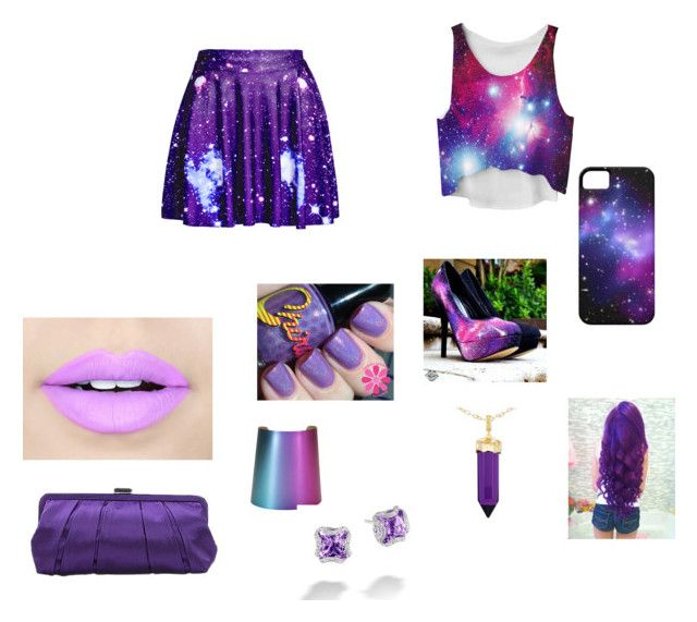 """out of this galaxy"" by kaliseisfashionforward ❤ liked on Polyvore featuring Fiebiger, Nina, Simone I. Smith and John Hardy"