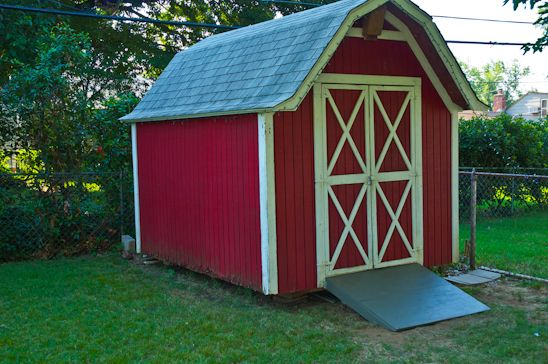 How to build a shed ramp | Backyard Shed Ideas | Pinterest ...