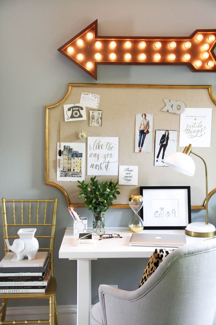 How to Style a Desk 3 Ways