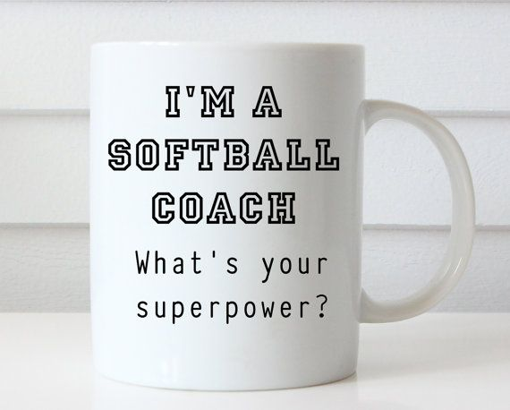 Softball Coach Gift  Gift for Softball Coach  by Giftsology
