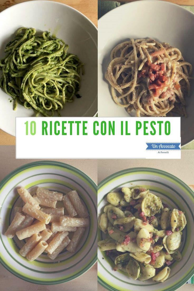 10 #ricette con il #pesto