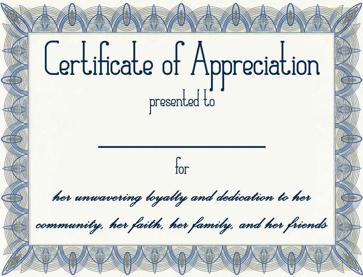 The 25+ best Certificate of appreciation ideas on Pinterest - certificate of recognition wordings