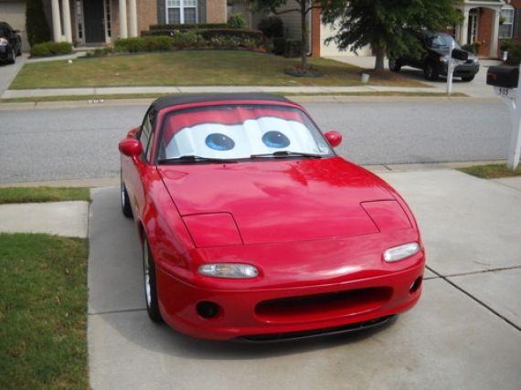 Lightning McQueen sunshade