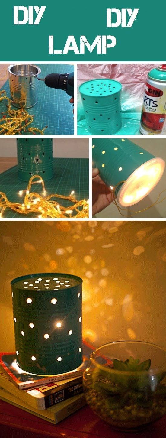 DIY COFFEE CAN LANTERNS ideas