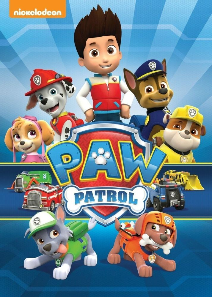 PAW Patrol (DVD, 2014), DVD New/Sealed Nickelodeon Show 10 Episodes!!  Sold in my Store!!
