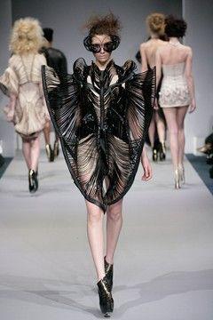 Iris van Herpen 2011   #Avantgarde #fashion #design