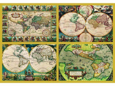 282 best Mapes antics images on Pinterest Antique maps, Bedroom - new world map online puzzle