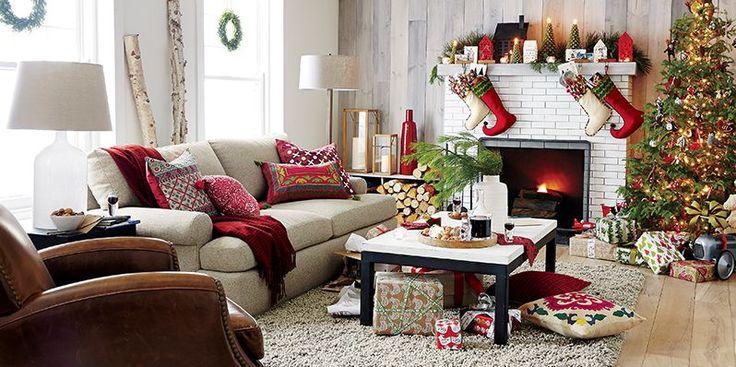 Crate & Barrel Christmas -- Trim the Tree