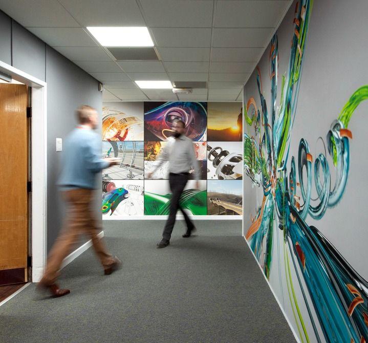 Inspirational Office Design. Modern Wall ArtOffice ...