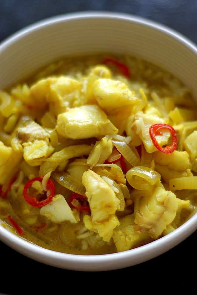 Trufla: Keralan fish curry...